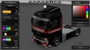 Mammoet Skin for MAN TGX