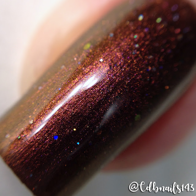 Glam Polish-Kissed By Fire