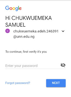 How To Activate UNN Email