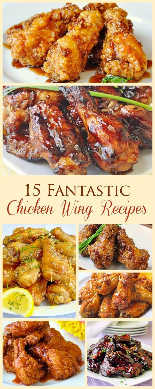 15 Fantastic Chicken Wing Recipes