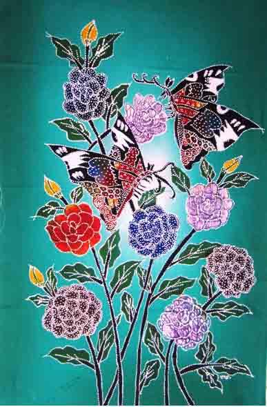 Cantiknya Motif Batik Hewan Dan Tumbuhan Goresan Canting