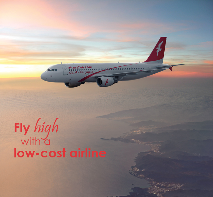"""Why Fly With Air Arabia"""""""