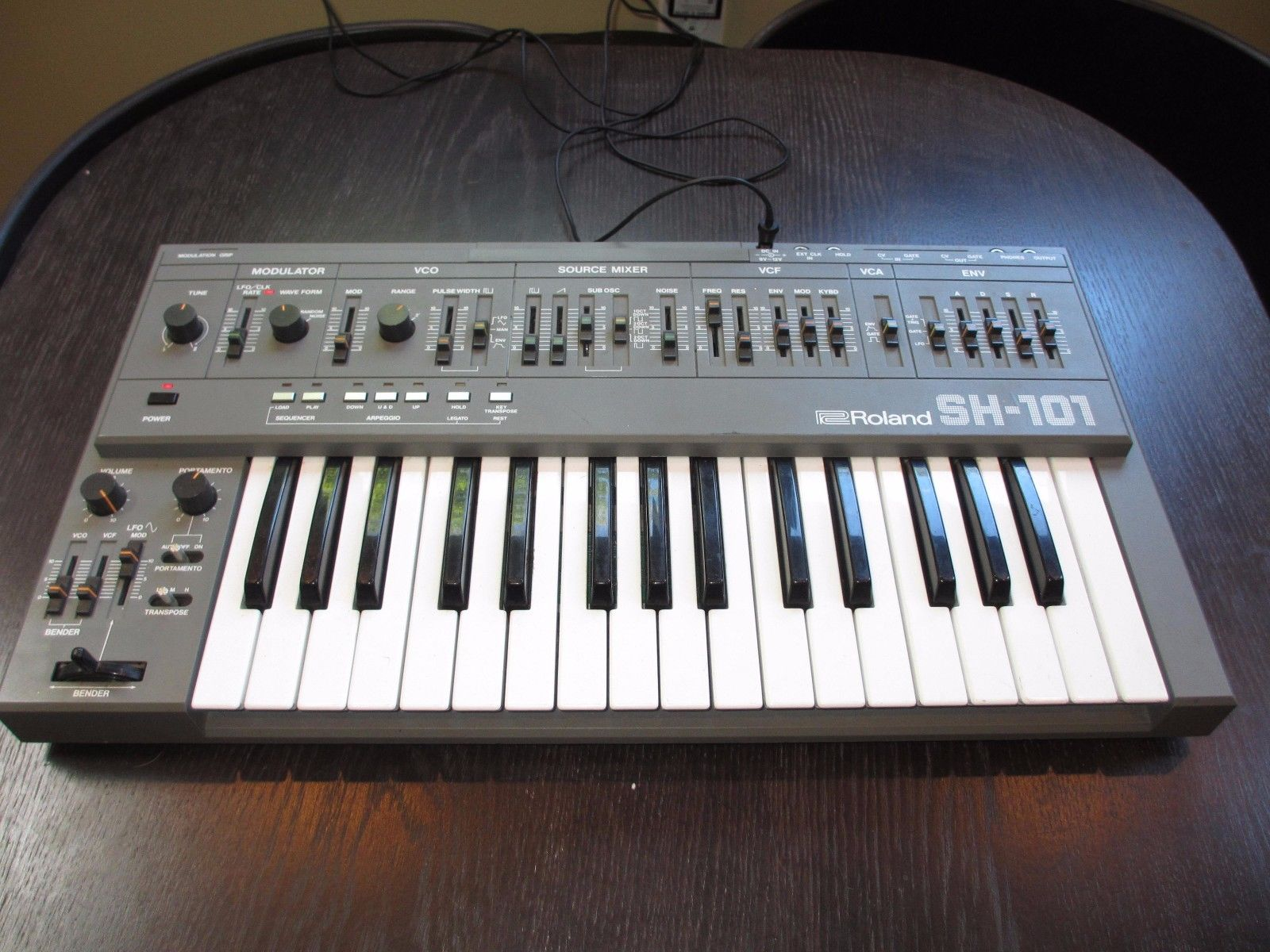 Battery Digital Matrixsynth Roland Sh 101 Battery Powered Synth
