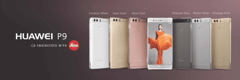 Huawei P9 images and color variants