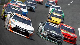 #NASCAR #NXS Alsco 300 Starting Lineup