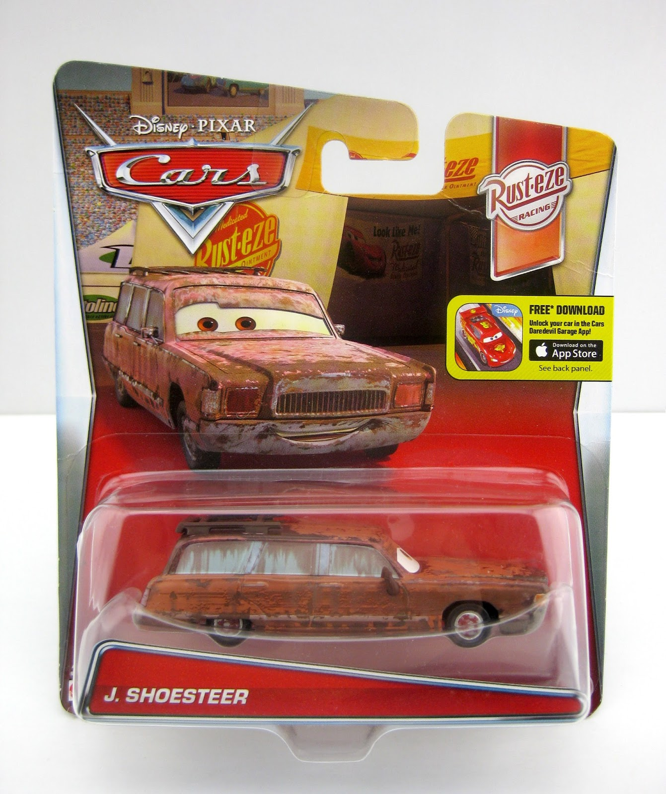 mattel Cars J. Shoesteer