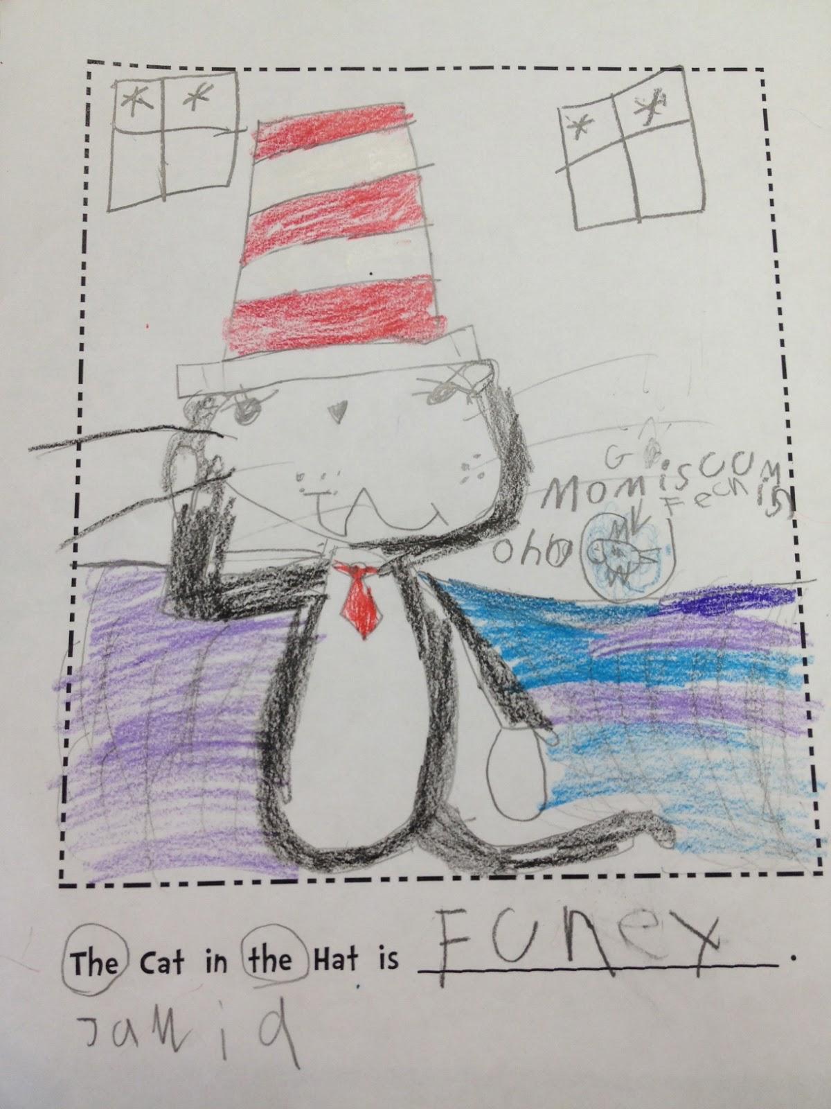 Ms Sangeorzan S Blog The Cat In The Hat
