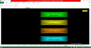 ملف حصر بيانات ابعاد وتسليح الكمرات البسيطة