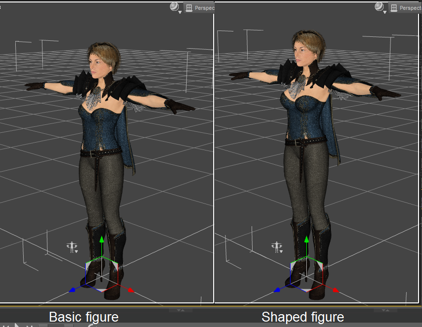 Diffeomorphic: Export a character from DAZ to Blender