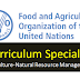 Curriculum Specialist   (Agriculture-Natural Resource Management) - FAO