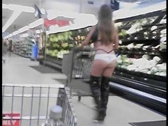 hal lucu unik aneh tidak pantas dan memalukan yang dilakukan di supermarket-8
