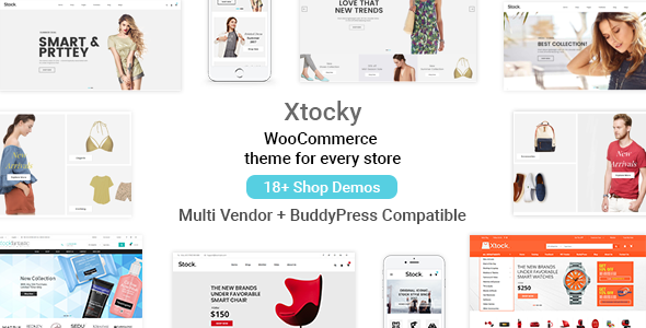 Xtocky v1.4.2 – WooCommerce Responsive Theme