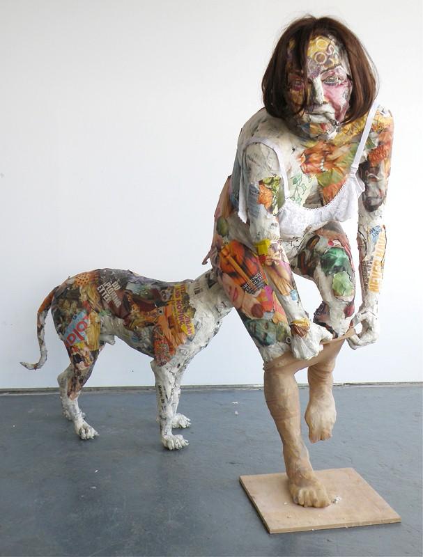 Скульптуры из мусора Уилла Курца 23
