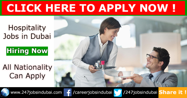 Latest Hospitality Jobs Opportunities in Dubai