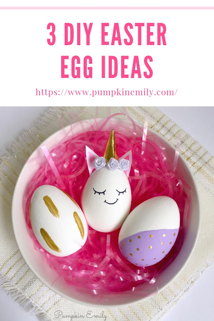DIY Easter Egg Ideas | DIY Unicorn Egg and Painted Eggs