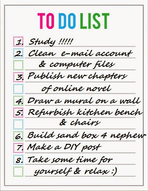 To do the to do list