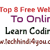 Top 8 Free Websites To Online Learn Coding In Hindi