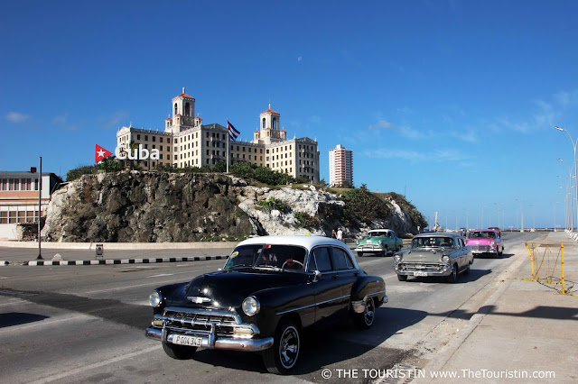 hotel nacional havana vedado from malecon cuba the touristin