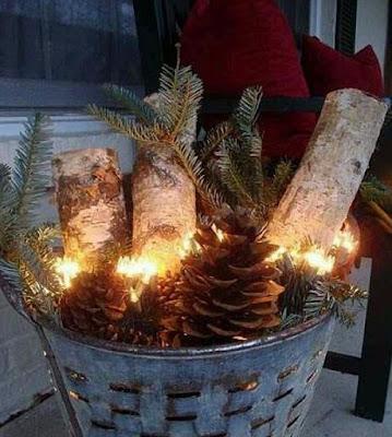 decoraciones caseras para navidad