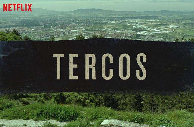 Cabecera de la nueva serie de televisión americana, grabada desde lo alto de San Cristóbal