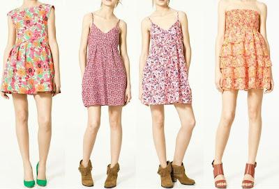 4 vestidos muy casuales de zara