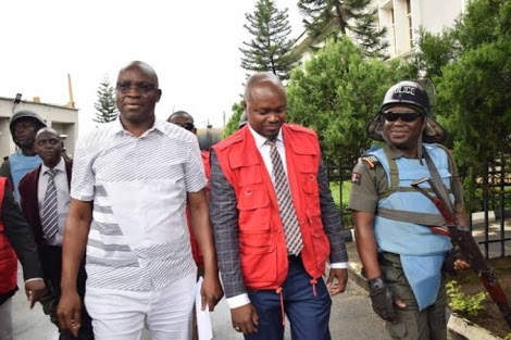 Fayose Spending Weekend In EFCC Cell