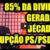 «85% da divida foi gerada pela corrupção de décadas PS-PSD-CDS» diz Paulo Morais