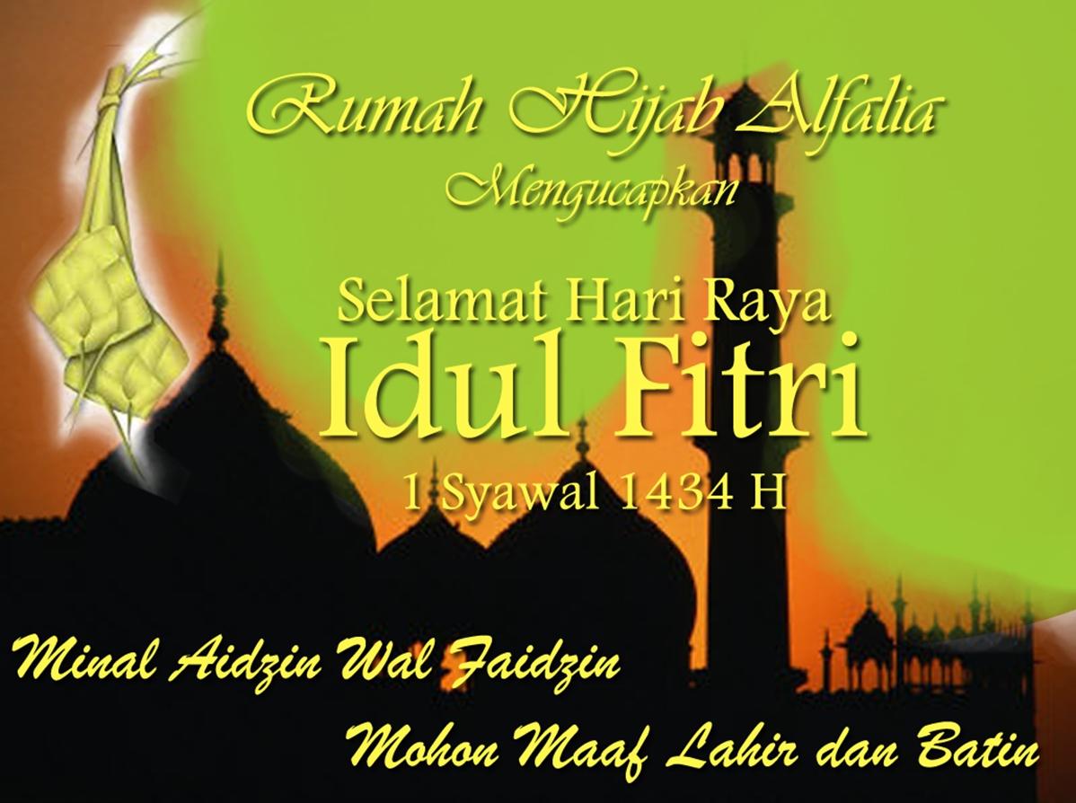 Gambar Kata Kata Ucapan Hari Raya Idul Fitri Aneka Indonesia
