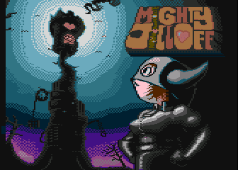 Mighty Jill Off, demake para Atari XL/XE