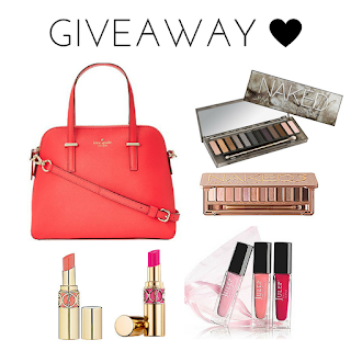 Enter the Kate Spade and Beauty Instagram Loop Giveaway. Ends 6/5
