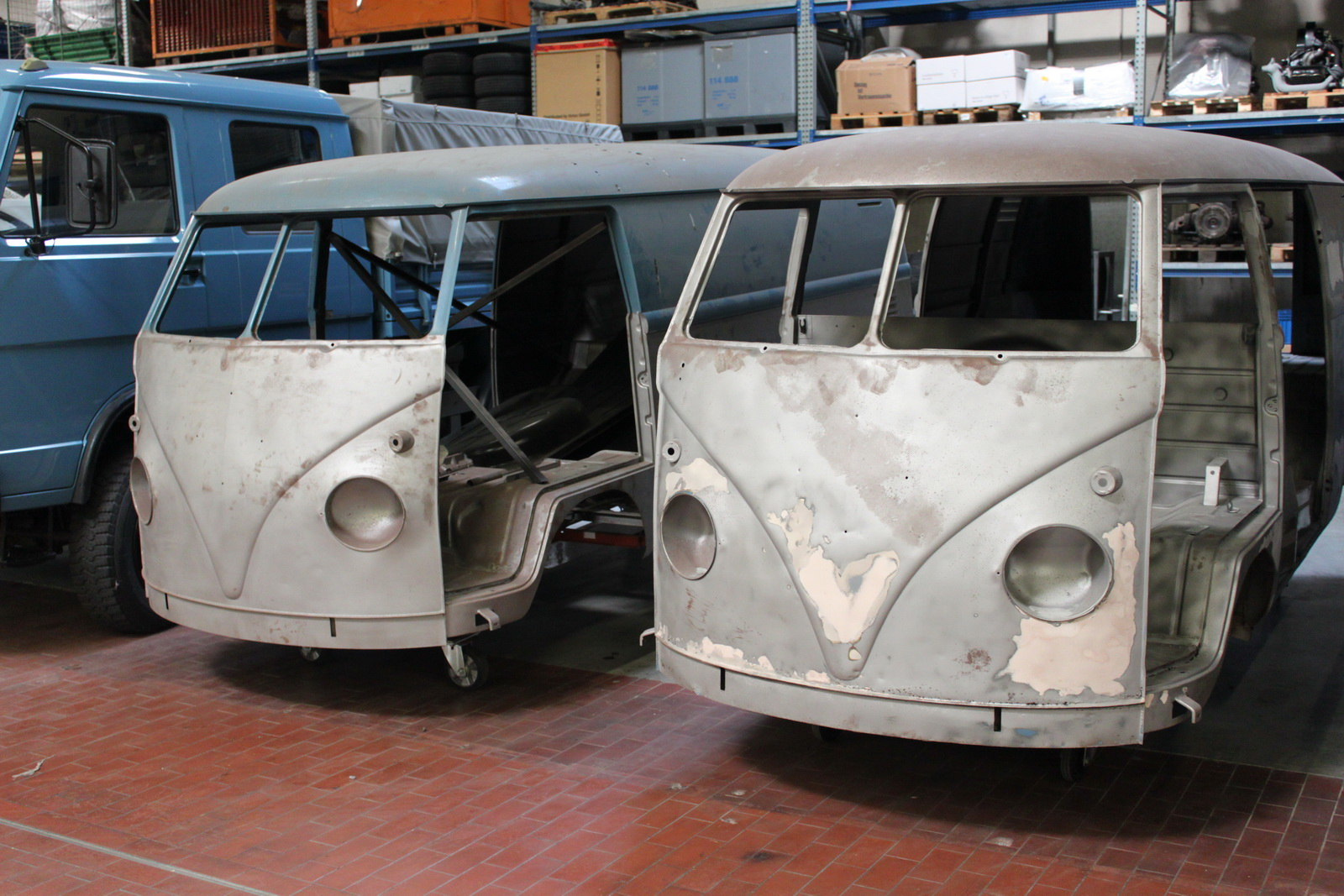 Volkswagen commercial vehicles oldtimers now also offers ex works