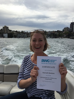 Everyone loves a certificate - Hannah Davison - writer