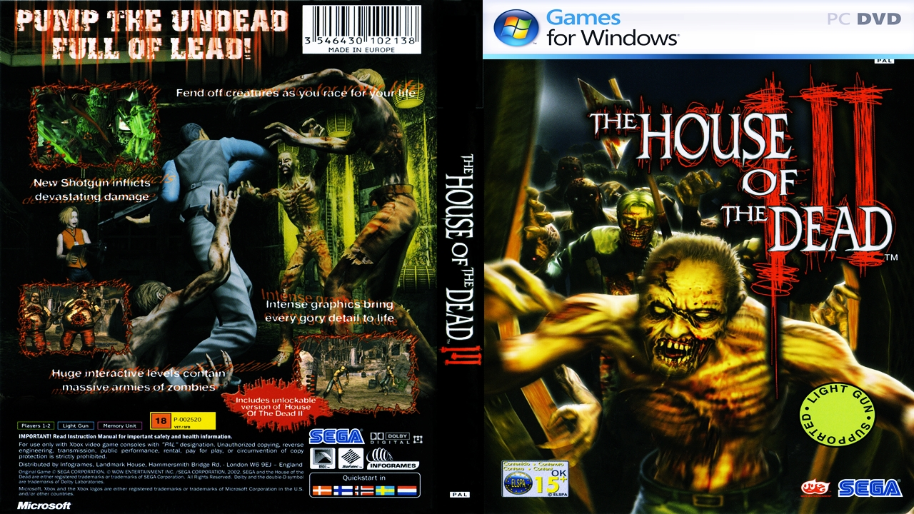 the house of the dead 3 pc mega