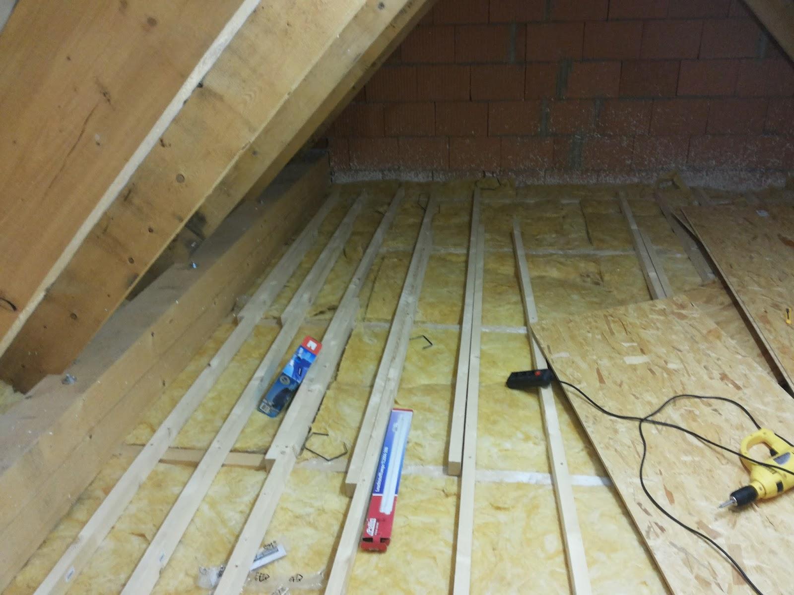 Fußboden Im Spitzboden ~ Fußboden verlegen osb renovierung der gartenlaube teil