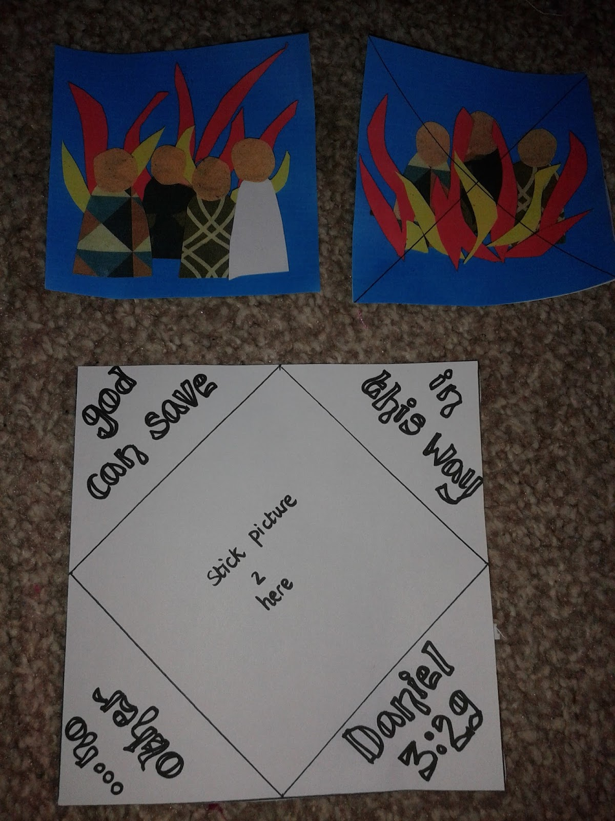 Flame Creative Children S Ministry Shadrach Meshach And Abednego In The Fiery Furnace Craft