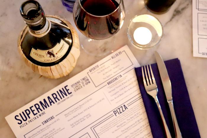 Pizza, Pasta and Wine at Supermarine, Woolston