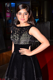 Niveda Thomas Black Sleeveless Cute Dress at 64th Jio Filmfare Awards South 2017 ~  Exclusive 035.JPG
