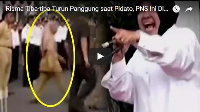 Saat Bu Risma Marah, Turun Podium [VIDEO]
