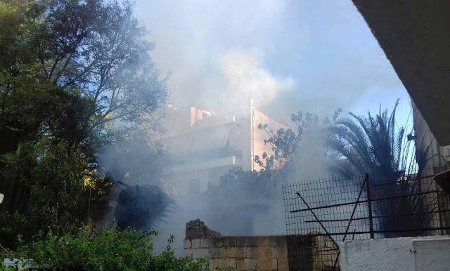 Πυρκαγιά σε οικία στο κέντρο της Κορίνθου