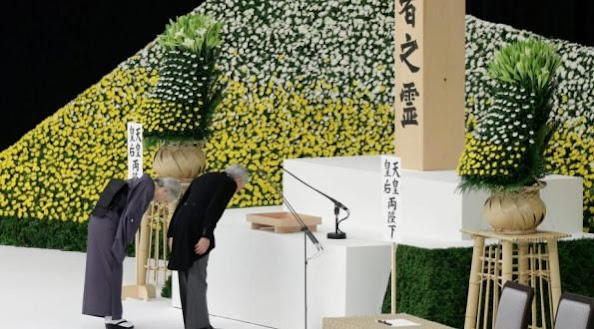 Japan's emperor Akihito said on August 15 that he felt 'profound remorse' over World War II -- a conflict that Tokyo fought in the name of his father Hirohito