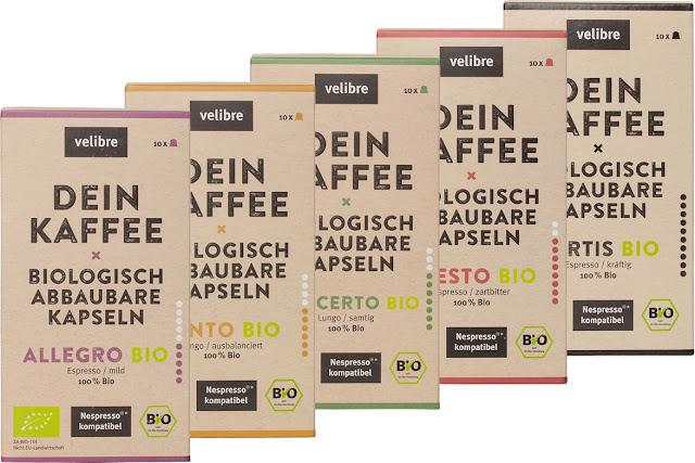 velibre Bio Kaffee Probierpaket