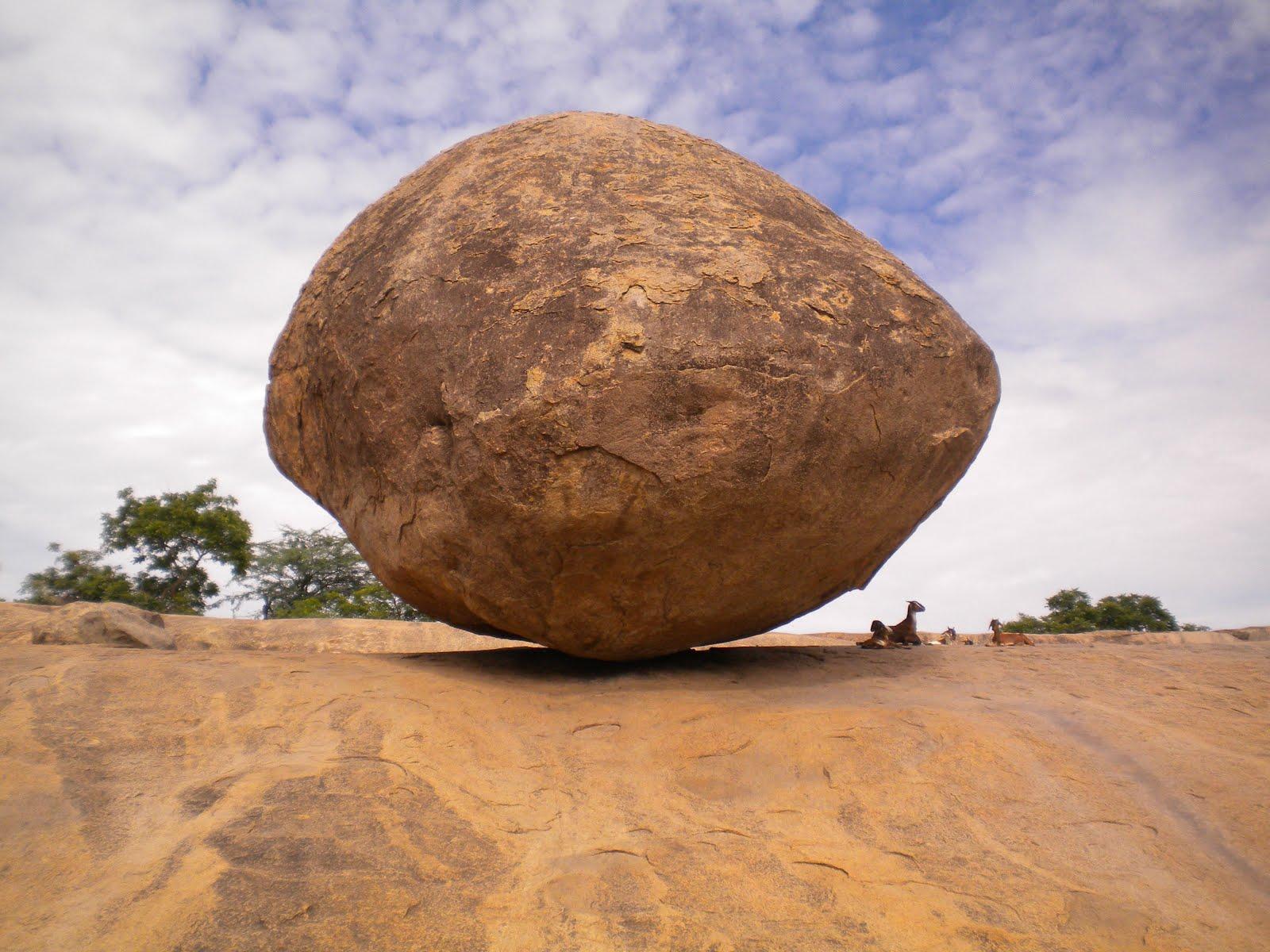 The Unsolved Mystery : Krishna's Butterball, Mahabalipuram