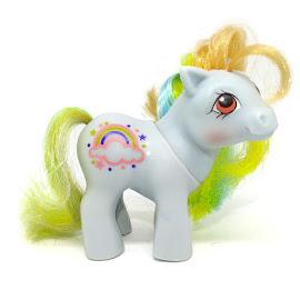 My Little Pony Baby Sunribbon Year Nine Rainbow Baby Ponies G1 Pony
