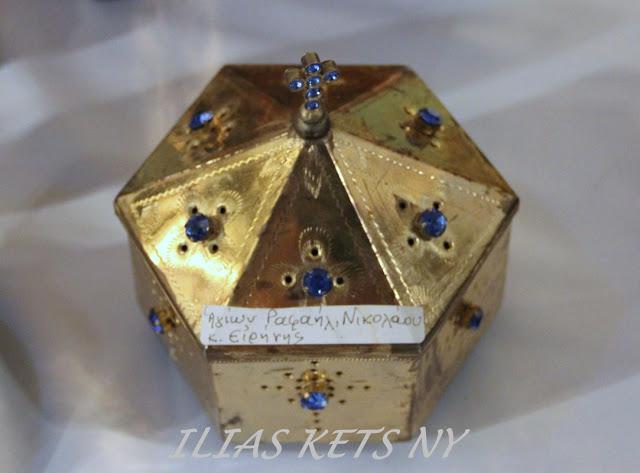 Τα λείψανα της Ιεράς Μονής Οσίας Ειρήνης Χρυσοβαλάντου στην Αστόρια της Νέας Υόρκης https://leipsanothiki.blogspot.be/