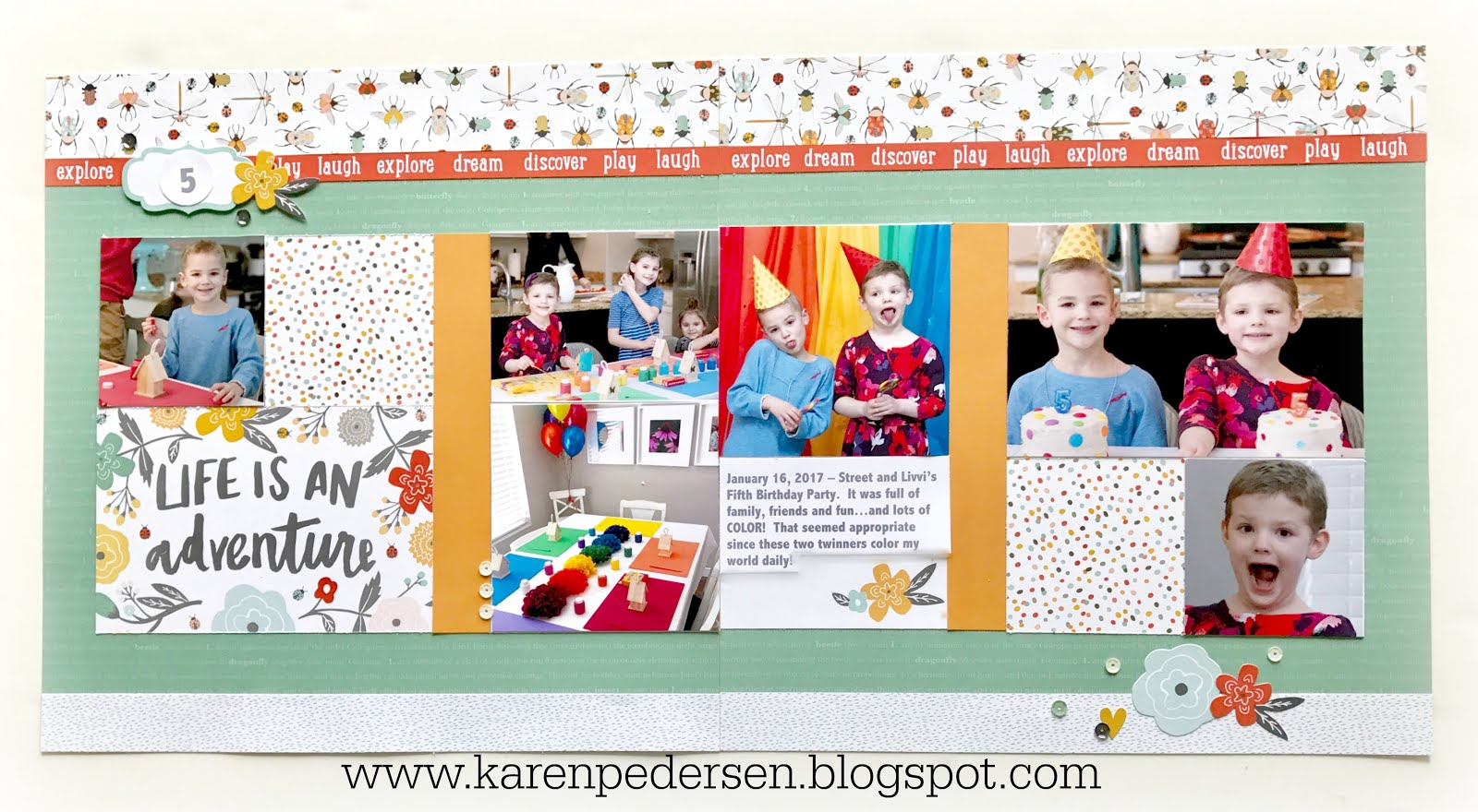 April Play Group Scrappin' and Card Makin' Classes and Kits (Dreamin' Big)