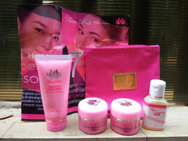 Cream Been Pink Paket Flek BPOM
