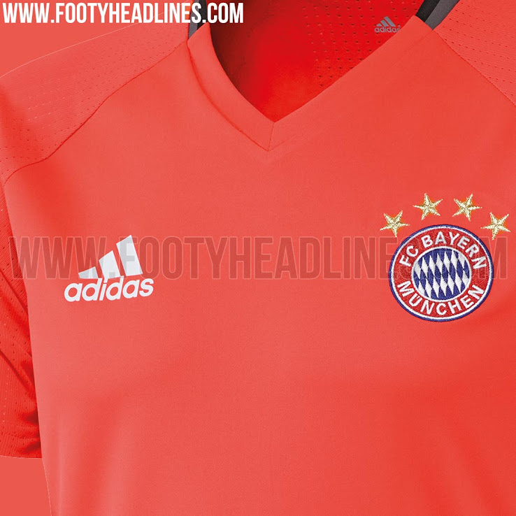 bayern m nchen 16 17 trainings trikot geleakt nur fussball. Black Bedroom Furniture Sets. Home Design Ideas