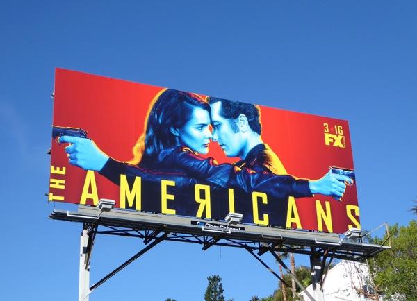 The Americans season 4 billboard