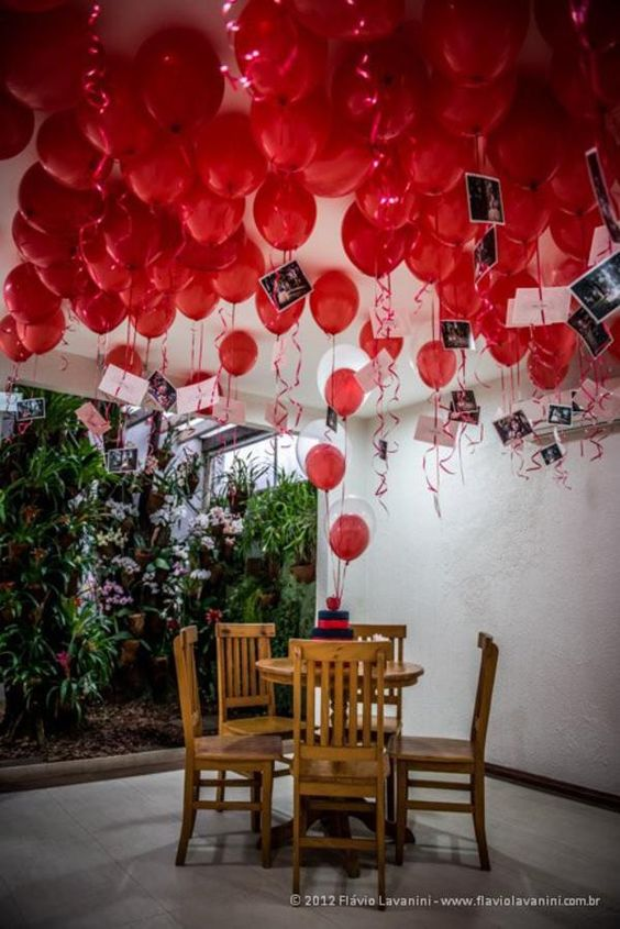 10 Fun Balloon Ideas for Valentine's Day.