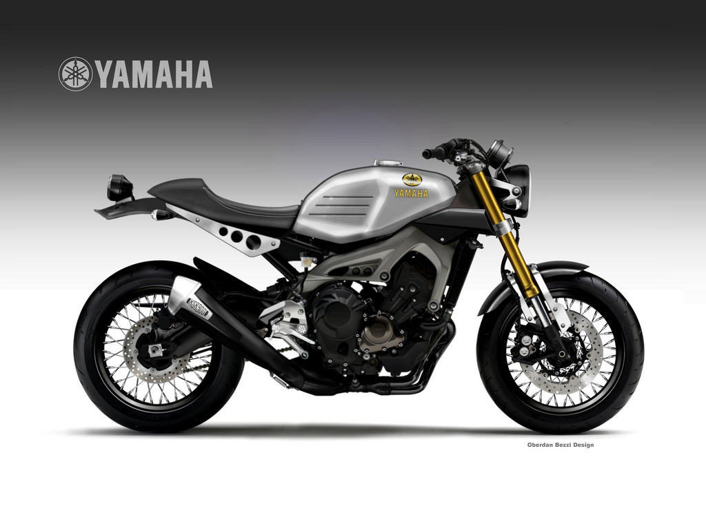 racing caf design corner yamaha xsr 900 series by oberdan bezzi. Black Bedroom Furniture Sets. Home Design Ideas